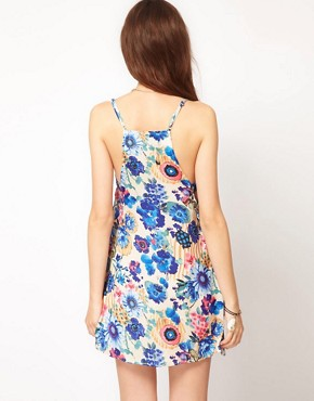 Image 2 ofTo Love Kuvaa Bold Floral Print Dress