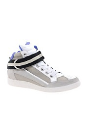 Iro High Top Trainers in Colourblock