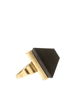 Image 4 ofASOS Pyramid Knuckleduster Ring
