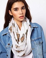 ASOS Geeky Cat Print Snood