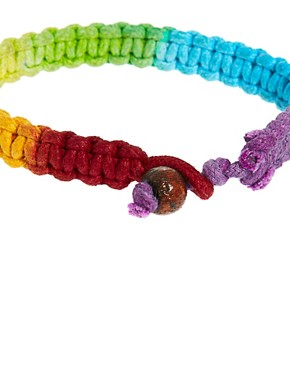 Image 4 ofASOS Neon Rainbow Bracelet