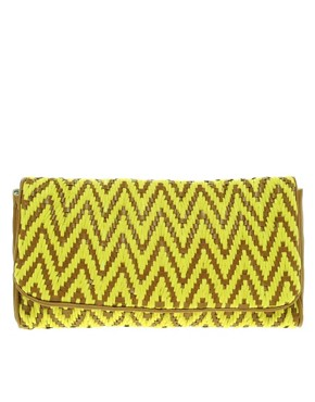 Image 1 ofFrench Connection Woven Bag