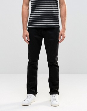 Blend Jeans Twister Slim Fit in Black Overdye