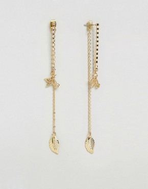 ASOS Nature Strand Earrings