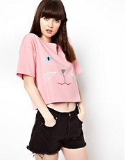 Lazy Oaf Kitty T-Shirt