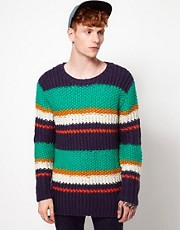Humor Fat Stripe Jumper