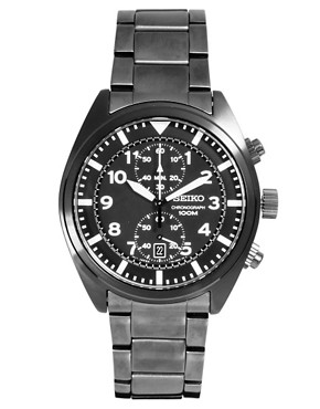 Image 1 ofSeiko Chronograph Watch SNN233P1
