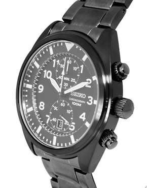 Image 4 ofSeiko Chronograph Watch SNN233P1