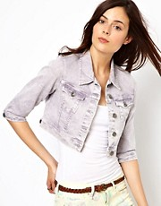 Pepe Jeans Coloured Denim Jacket