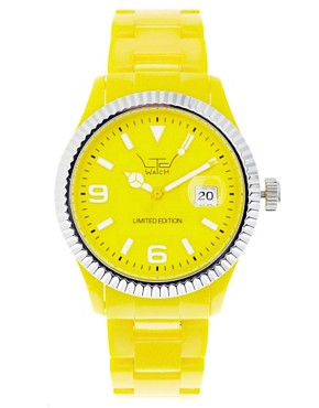 Image 1 ofLTD Yellow Bracelet Watch