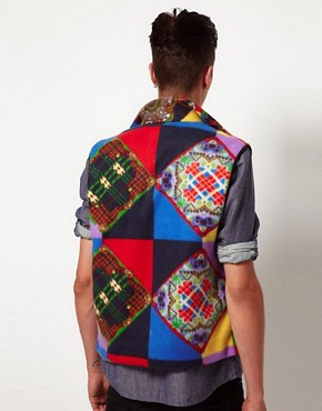 Image 2 of Reclaimed Vintage Fleece Gilet