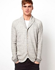 Diesel - Smog - Cardigan con collo sciallato