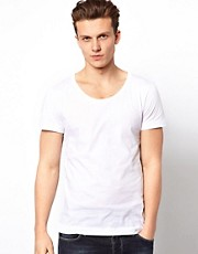 J Lindeberg T-Shirt With Scoop Neck