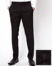 Caxton Skinny Fit Tux Trousers