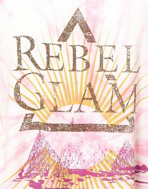 Image 3 ofOne Teaspoon Rebel Glam Harry Tee