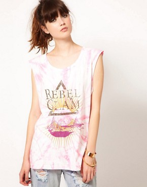 Image 1 ofOne Teaspoon Rebel Glam Harry Tee