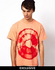 Reclaimed Vintage - T-shirt con stampa tie-dye