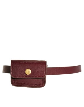 Image 1 of ASOS Chain and Purse Detail Waist Belt