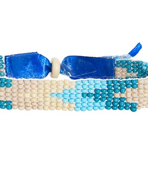 Image 4 ofASOS Beaded Festival Bracelet