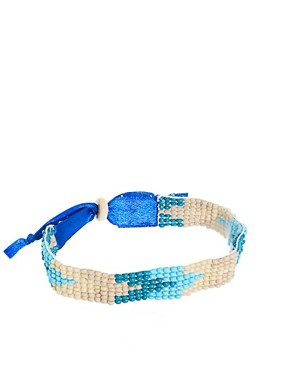 Image 1 ofASOS Beaded Festival Bracelet