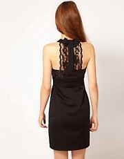 A Wear Lace Panel Back Lace