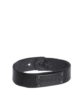 Image 1 of Diesel Leather Bracelet