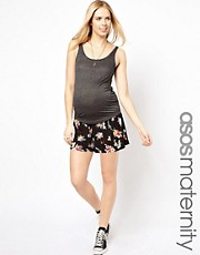 ASOS Maternity Culotte In Floral Print