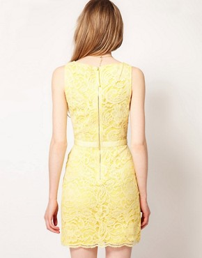Image 2 ofWarehouse Lace Shift Dress