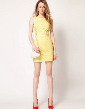 Image 4 ofWarehouse Lace Shift Dress
