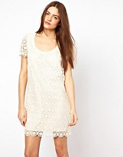 French Connection Lisella Lace Shift Dress
