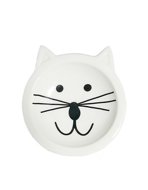 Image 2 of ASOS Cat Face Ring Dish