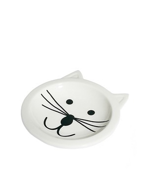 Image 3 of ASOS Cat Face Ring Dish
