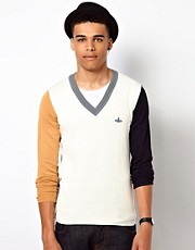 Vivienne Westwood MAN Block Colour Jumper