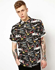 Insight Shirt Short Sleeve Kaos Hawaiian