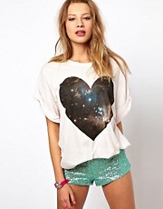 Wildfox Universal Heart T-Shirt