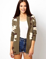 Glamorous Camo Cardigan