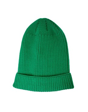 Image 2 ofASOS Rib Boyfriend Beanie