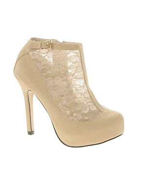 Image 1 ofASOS TWINKLE Shoe Boots with Lace Detail