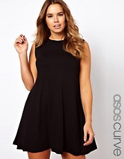 ASOS CURVE  rmelloses Swing-Kleid