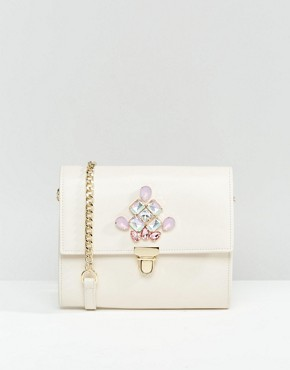 ASOS Jewelled Shoulder Bag