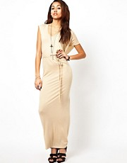 Religion Drape Maxi Dress