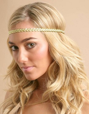 Image 1 ofASOS Plaited Stretch Headband