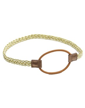 Image 4 ofASOS Plaited Stretch Headband