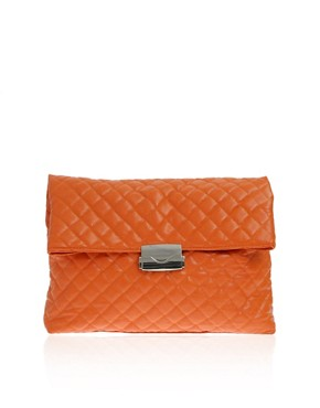 Image 1 ofASOS Oversized Quilted Clutch