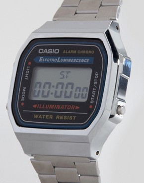 Image 2 ofCasio A168WA-1YES Digital Bracelet Watch