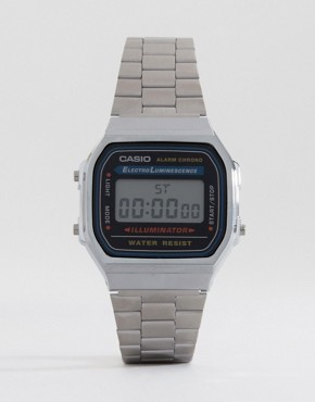 Image 1 ofCasio A168WA-1YES Digital Bracelet Watch