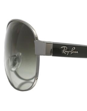Image 4 ofRay-Ban Aviator Sunglasses with Contrast Arms