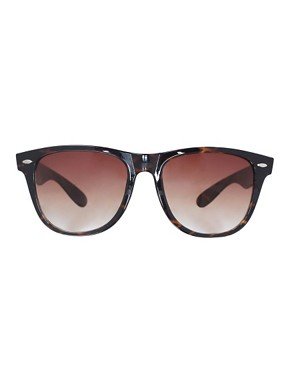 Image 2 ofASOS Tortoise Retro Sunglasses