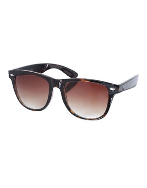 Image 1 ofASOS Tortoise Retro Sunglasses