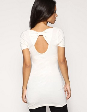 Image 1 ofASOS Bow Back Tunic